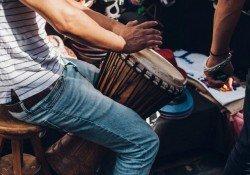 Lista com nomes dos estilos e ritmos de música - tambores