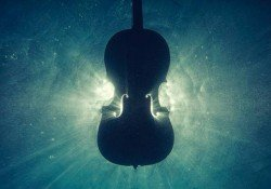My first violin experience - water violin