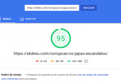 95 en dispositivos móviles de Pagespeed con anuncios - Pagespeed
